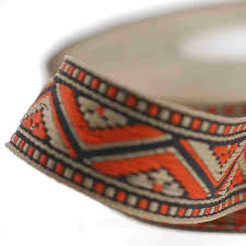 woven ribbon mexican look jacquard ribbon crafts ribbon for ethnic colour