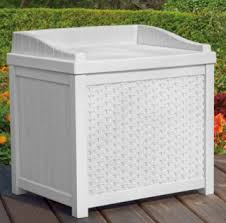 plastic deck storage containers outdoor furniture