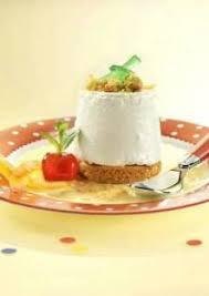 dessert fromage blanc en faisselle et palets bretons