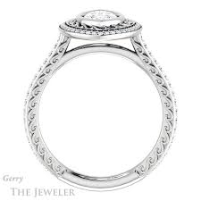 marquise cut diamond ring marquise cut engagement ring setting gtj970 marquise w gerry