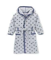 robe de chambre petit bateau fille robe de chambre garçon en polaire imprimée gris subway bleu logo