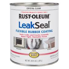 Rubber Home Depot by Rust Oleum Stops Rust 30 Oz Leakseal Clear Flexible Rubber