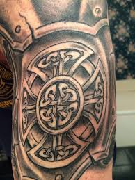 celtic knot maltese cross represents my heritage and profession