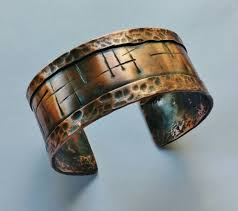 solid bracelet images Buy a hand crafted chiseled and hammered cuff bracelet in solid jpg