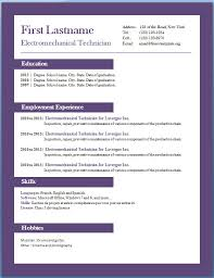 free resume format downloads free fill in resume template