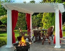 Lean To Pergola Kits by Amish Yard Our Amish Crafted Poly Furniture And Outdoor Structures