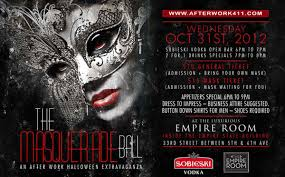 masquerade masks nyc tickets for the masquerade after work nyc in new york from