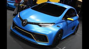 renault zoe 2018 2017 renault zoe e sport concept details specs cars clues