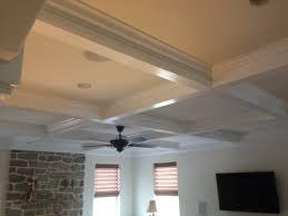 coffer ceilings mki custom trimwork and painting coffered ceilings