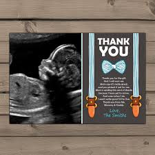baby shower thank you cards thank you insert thank