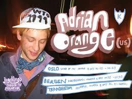 gratiskonsert med adrian orange us k records onsdag 8 oktober