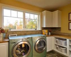 Laundry Room Wall Storage laundry room with storage system and blue walls feng shui in the