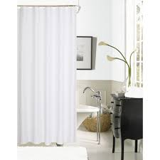 White Shower Curtain White Shower Curtains Shower Accessories The Home Depot