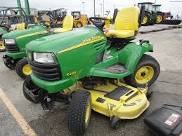 john deere x485se 2ws garden tractor john deere x series lawn