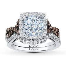 levian wedding rings levian bridal setting 5 8 ct tw diamonds 14k vanilla gold