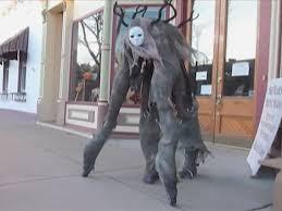 stilt costumes halloween this woman u0027s halloween costume is a scary 4 legged monster insider