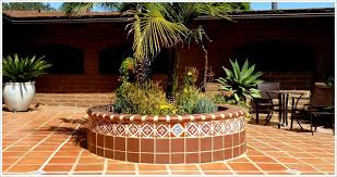 spanish floor spanish mission red handcrafted floor tiles