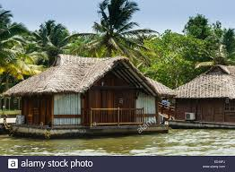 floating houses kerala india poovar beach south resort floating houses poover