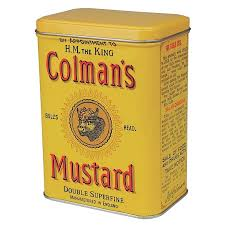colman mustard colmans mustard storage tin