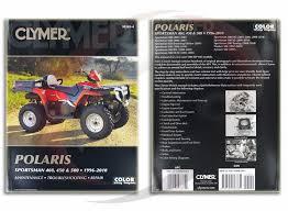 2008 2010 polaris sportsman 500 ho repair manual clymer m365 4