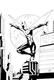batman coloring free download