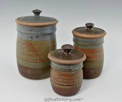 Decorative Canister Sets Kitchen Finest Rustic Kitchen Canister Set Decoration Gallery Image And