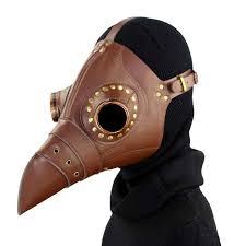 leather plague doctor mask brown leather plague doctor mask madburner