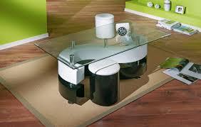 Wohnzimmertisch Schwarz 2er Set Couchtische Eiche Holztisch Tisch Real