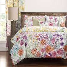 Duvet Overstock Siscovers Whimsical Wildflower 6 Piece Duvet Cover Set Free