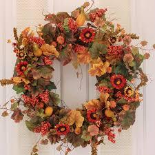 Fall Wreaths Autumn Or Fall Wreath Ideas