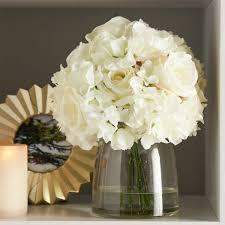 Flowers Glass Vase Artificial Flower Arrangements You U0027ll Love Wayfair