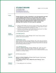 college resume formats 6 resume format for college students with no experience