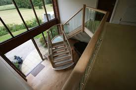 maple staircase maple and glass stairs and staircase hythe joinery