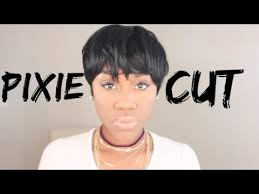 can you sew in extensions in a pixie hair cut sexy pixie cut sew in tutorial shanese danae youtube