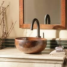 maestro petit copper bathroom vessel sink native trails