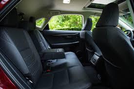 lexus nx interior back seat review 2015 lexus nx 300h canadian auto review