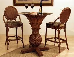 Rattan Bar Table Pub Table Sets Wood Metal Glass Rattan