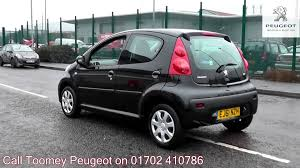 2011 Peugeot 107 Urban 1l Raven Black Metallic Ej61nzh For Sale At