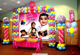 Simple Birthday Decoration Ideas At Home Indian Birthday Parties And Cradle Ceremony Decorations By
