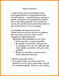 Business Complaint Letter by Specific Types Of Business Letters The Best Letter Sample