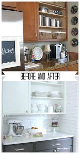 painting kitchen cabinets white before and after pictures tag