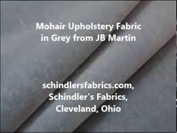 Mohair Upholstery Mohair Upholstery Fabric In Grey Youtube