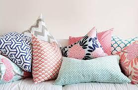Something Urban Girl Textile Thursday Mixing Patterns - Home decor textiles