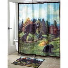 Shower Curtains Black Black Shower Curtains Foter
