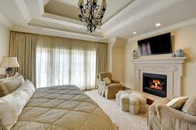 Master Bedroom With Fireplace Bed Master Bedroom Fireplace New Custom Homes Globex