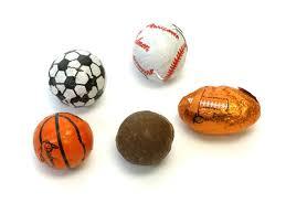 bulk chocolate sports balls oldtimecandy