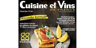 magazine cuisine et vins magazine