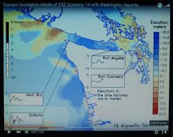 Whidbey Island Map Updated Tsunami Model For M9 Cascadia Earthquake Northwest