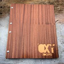 engravable photo album handmade custom wooden mahogany portfolio album heirloom wedding