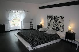chambre blanc et noir déco chambre noir et blanc